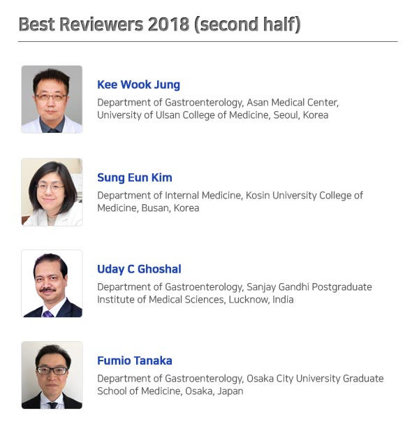 Best Reviewers 2018 (second half)